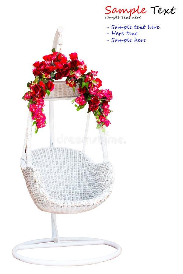 blomma isolerad swing fotografering för bildbyråer