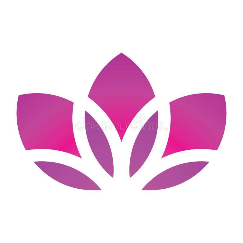 blomma lotusblomma vektor illustrationer