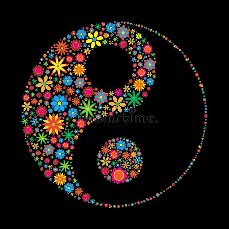 blomma yang som ying royaltyfri illustrationer
