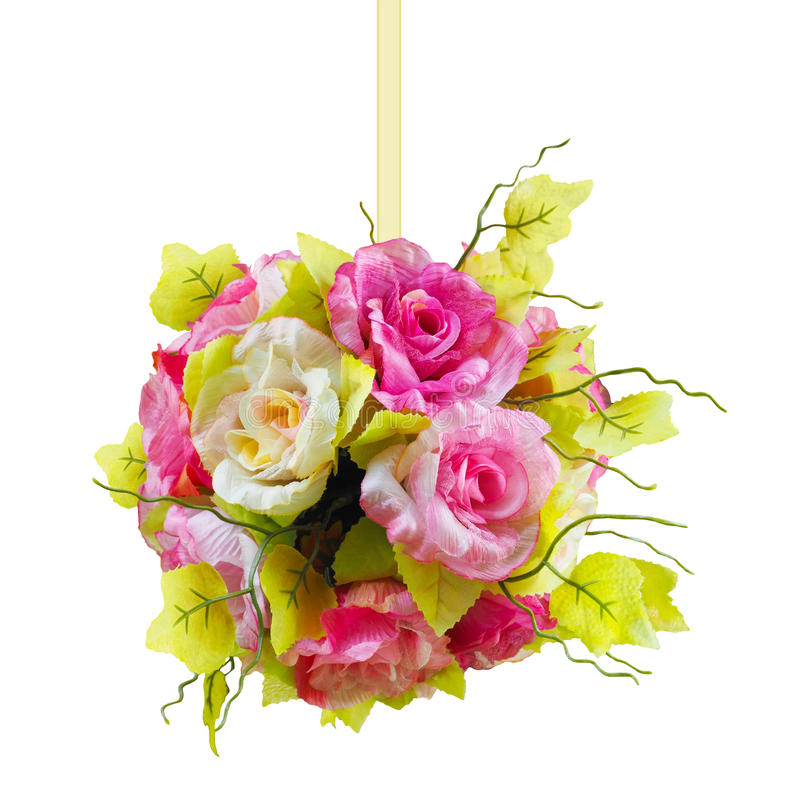Blommabollform arkivfoto