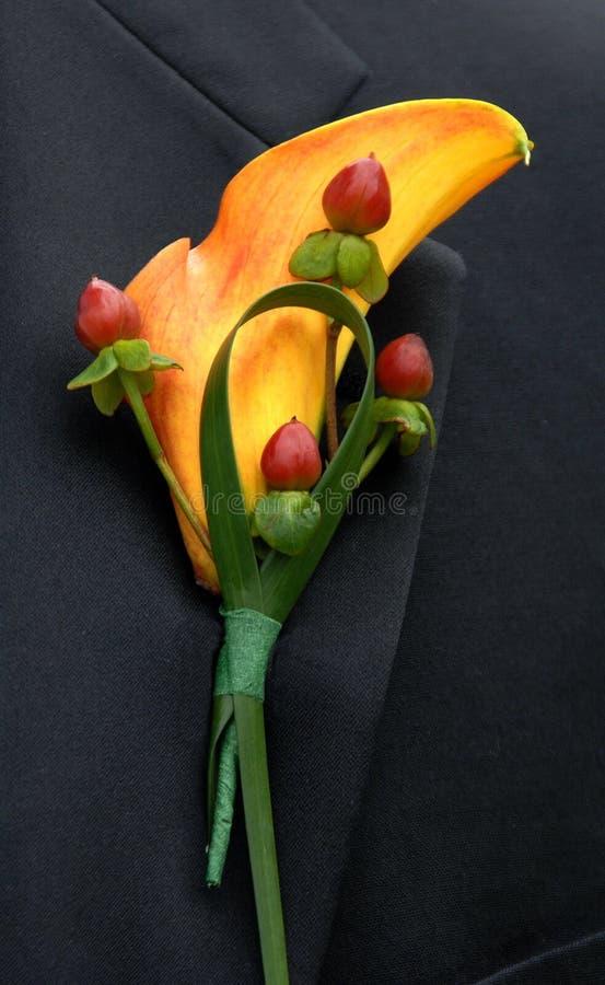 blommabröllop fotografering för bildbyråer