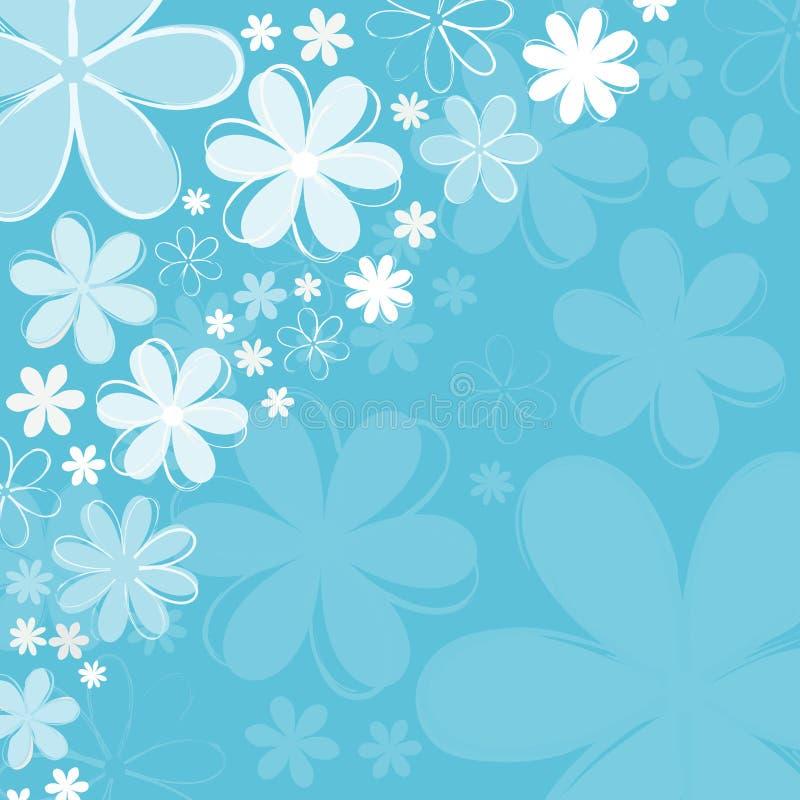 blommafjäder vektor illustrationer