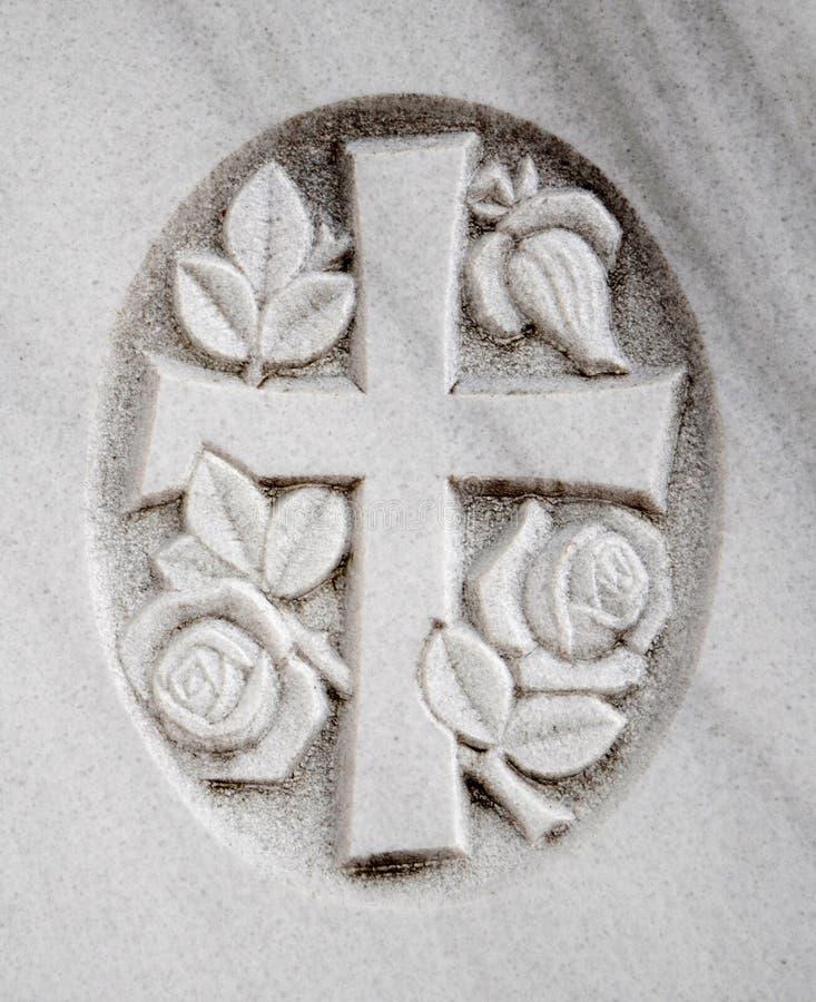 Blommakorgrav royaltyfria bilder