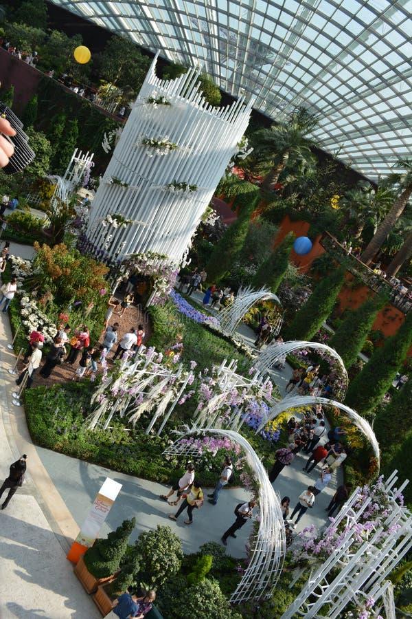Blommakupol under SGF royaltyfria bilder