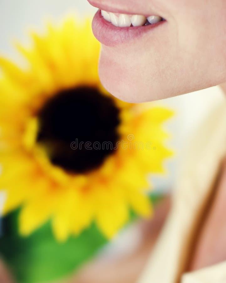 blommaleende royaltyfri fotografi