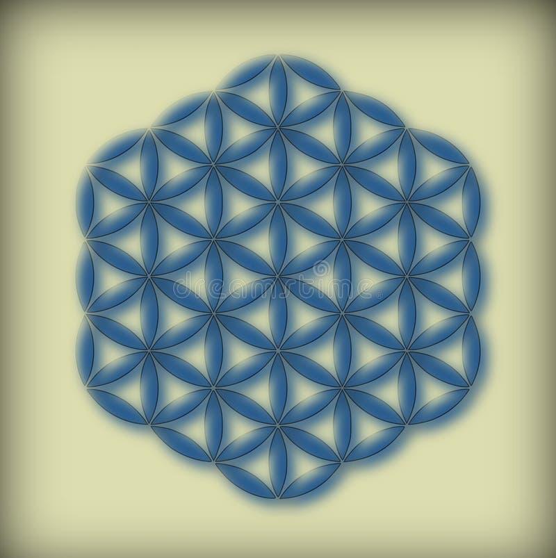 blommalivstid royaltyfri illustrationer