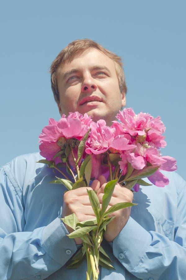 blommaman arkivfoton