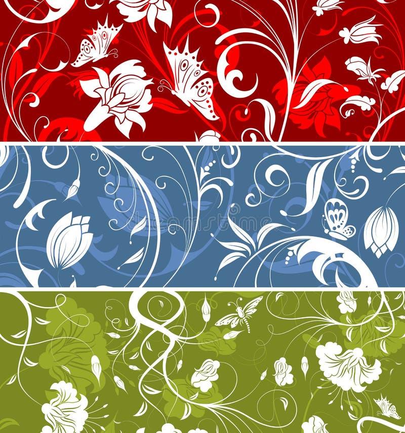 blommamodell royaltyfri illustrationer