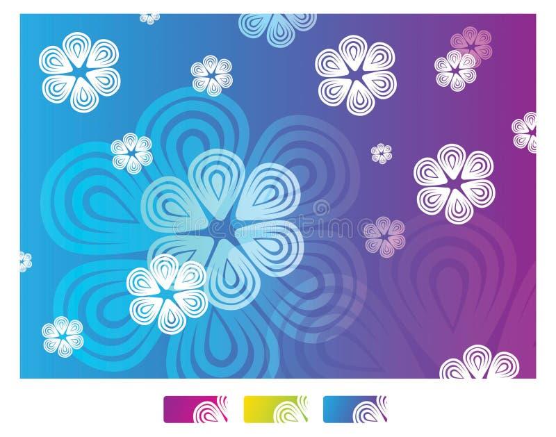 blommamodellupprepning stock illustrationer