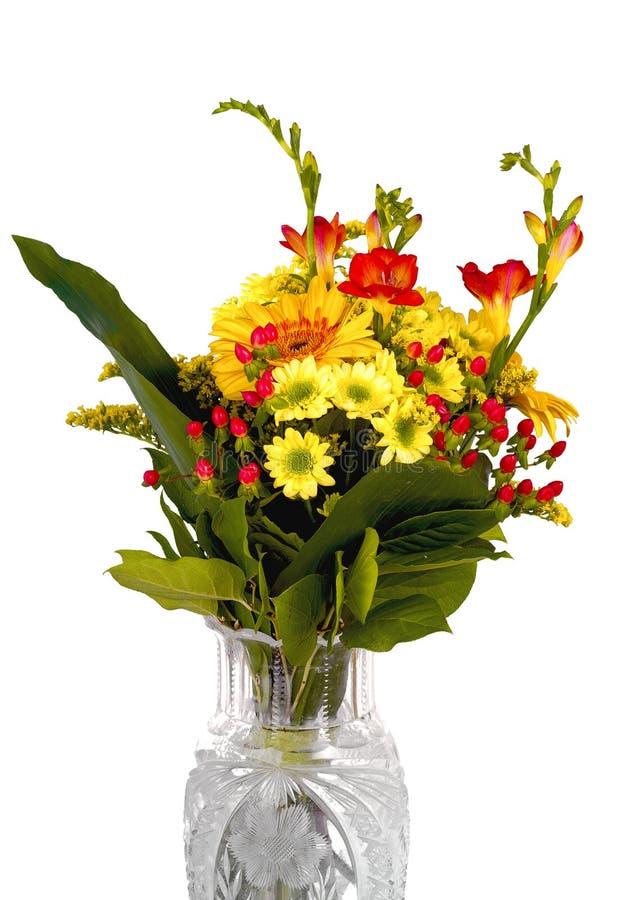 Blommapacke royaltyfria foton