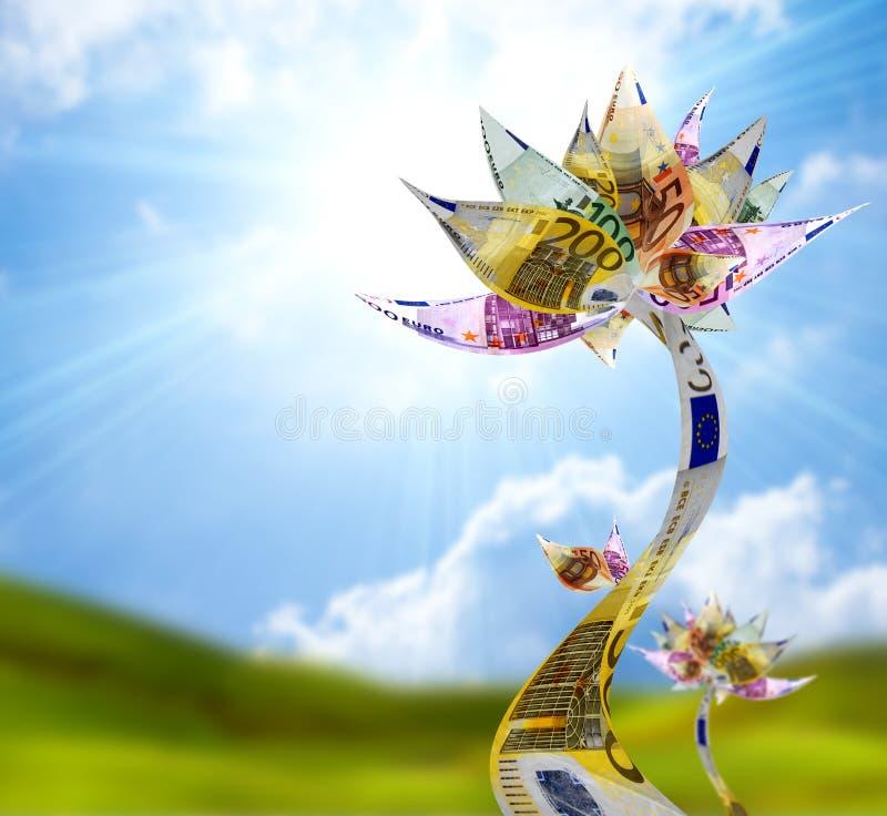 blommapengar royaltyfri foto