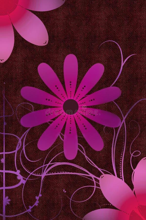 blommaprydnadar vektor illustrationer