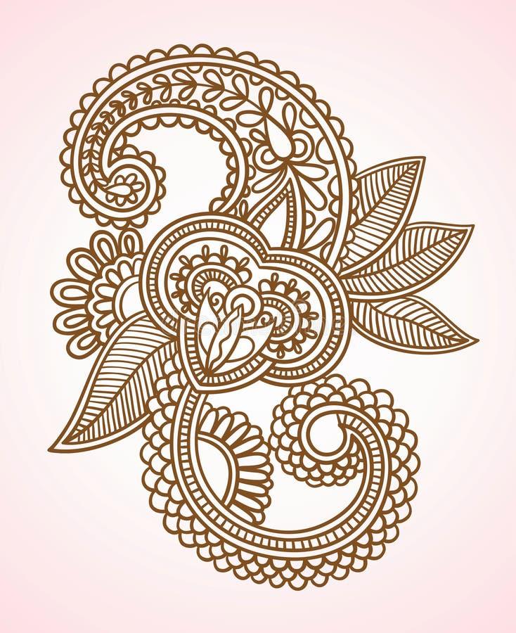 blommar illustrationen royaltyfri illustrationer
