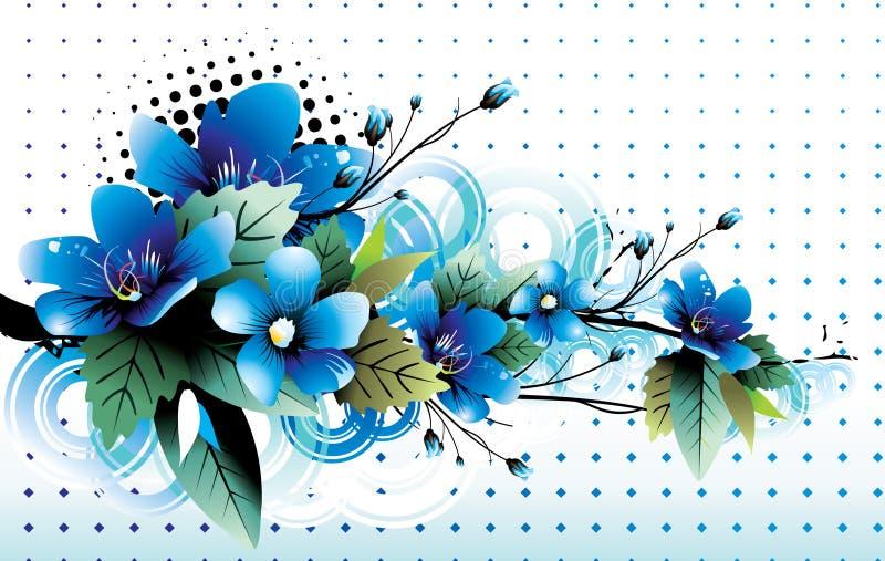 blommar illustrationvektorn vektor illustrationer