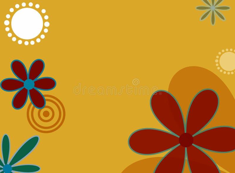 blommar springtime royaltyfri illustrationer