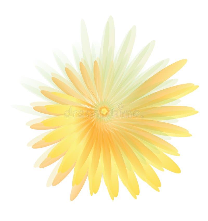 Blommar tulpan royaltyfri illustrationer