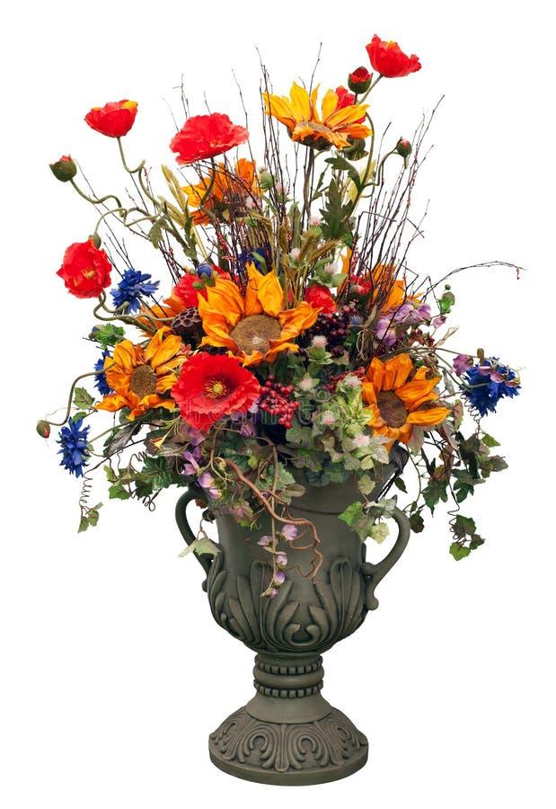 blommar vasen arkivbilder