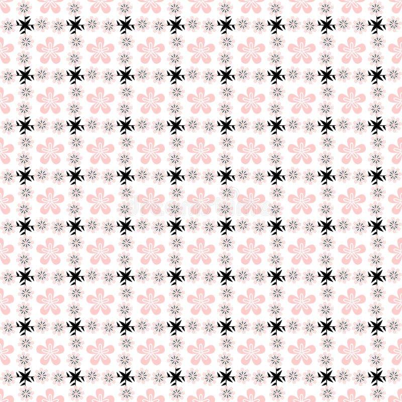 blommatree vektor illustrationer