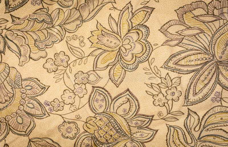 Blommatyg arkivfoto