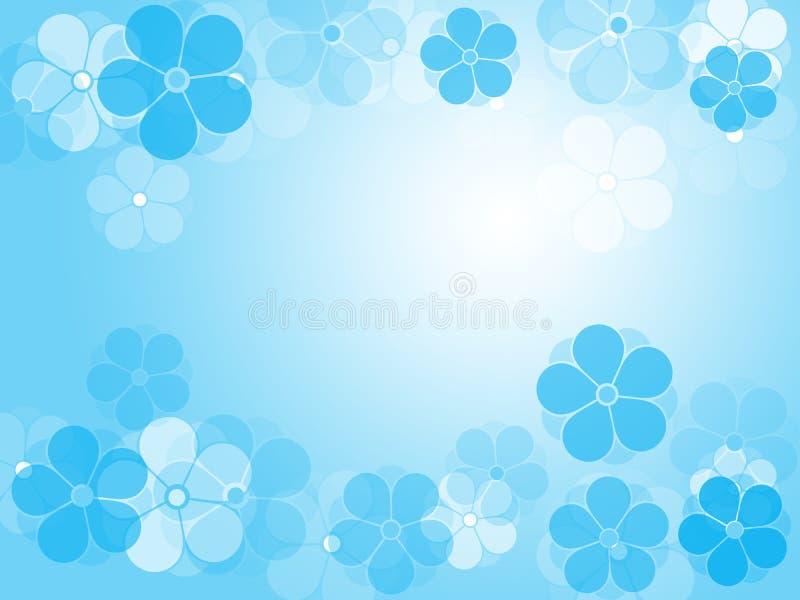 blommavinter stock illustrationer