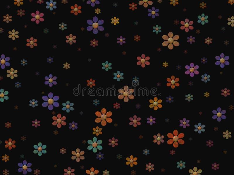 blommor stock illustrationer
