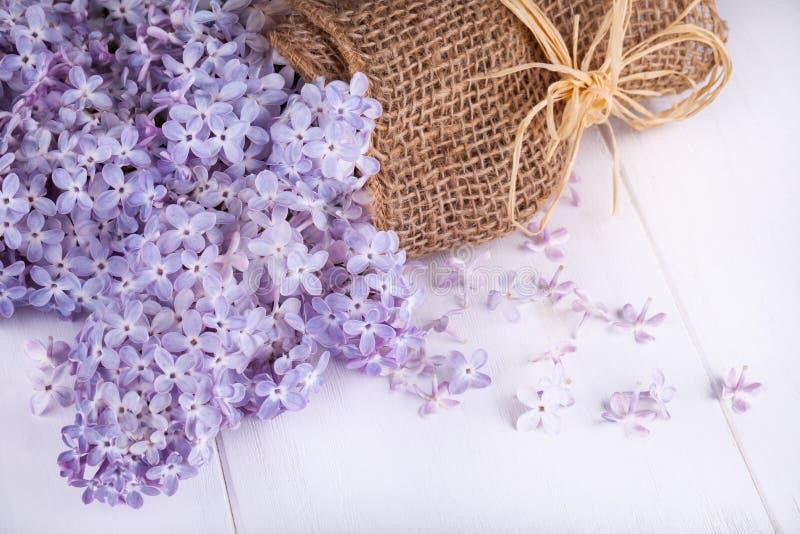 Blommor av lilor royaltyfri foto