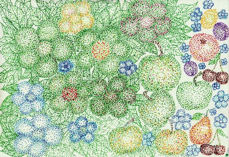 Blommor från bollar arkivfoton