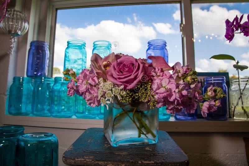 Blommor och färger royaltyfri bild