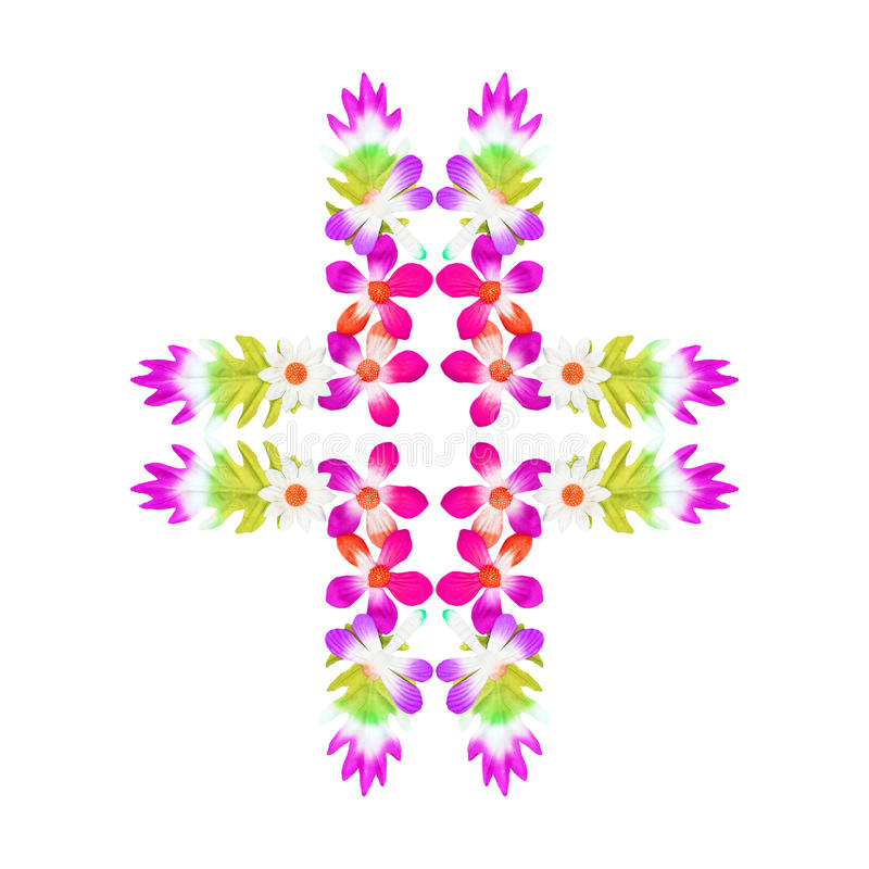 Blommor som göras av färgrikt papper som används för garnering fotografering för bildbyråer
