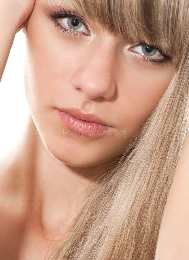 Blond stock afbeeldingen