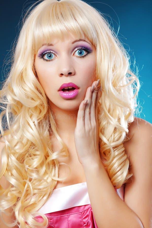 Blond lizenzfreie stockfotografie