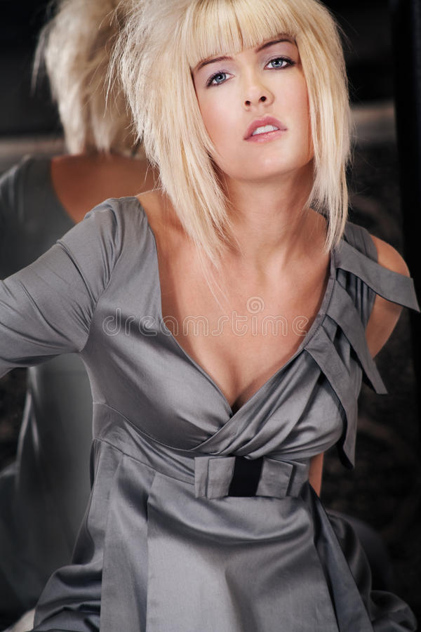 Blond royalty-vrije stock fotografie