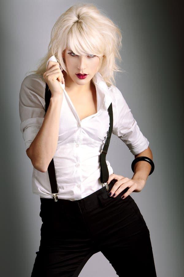 Blond stock foto
