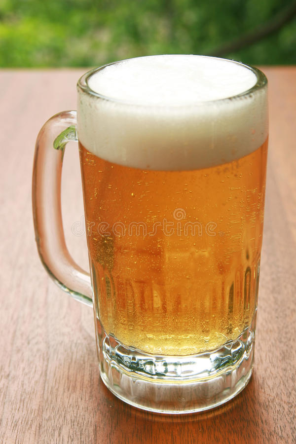 Blond ale royalty free stock images