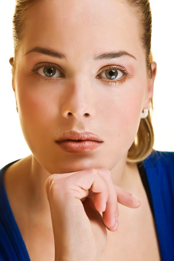 Blond amical images libres de droits