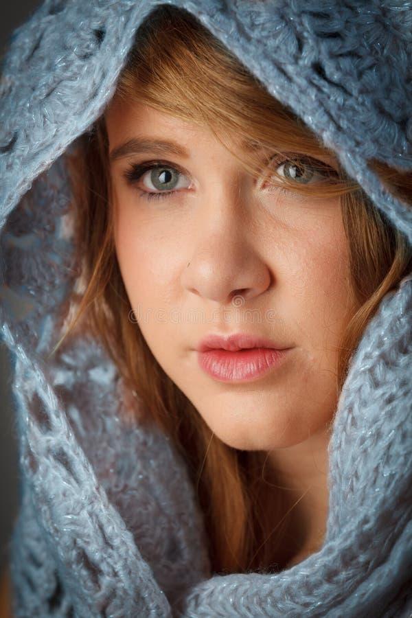 blond atrakcyjna dziewczyna fotografia stock