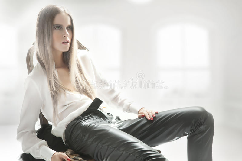 Download Blond Beauty Posing Royalty Free Stock Photography - Image: 20937377