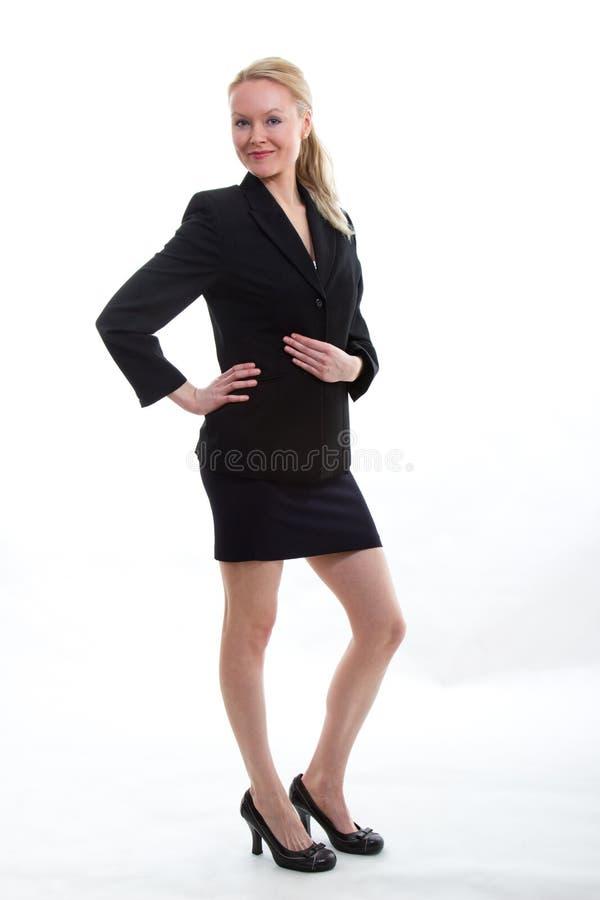 blond bizneswomanu blond ładny zdjęcia royalty free