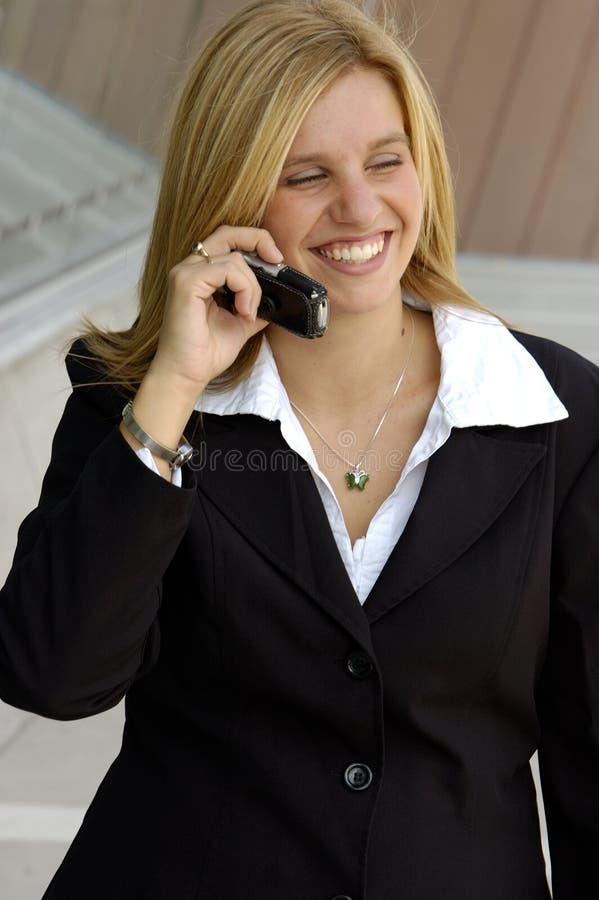 Blond Businesswoman stock photography