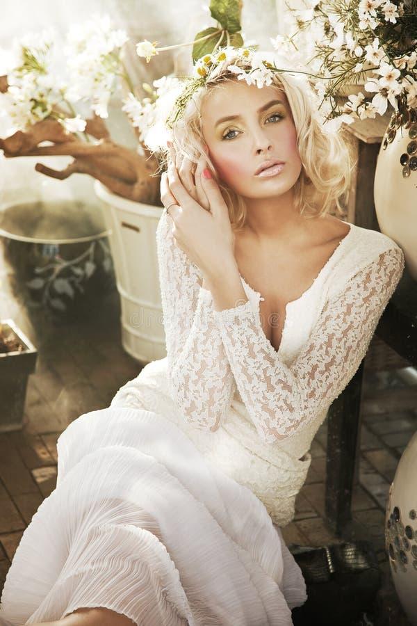 blond damy ładni potomstwa obrazy royalty free