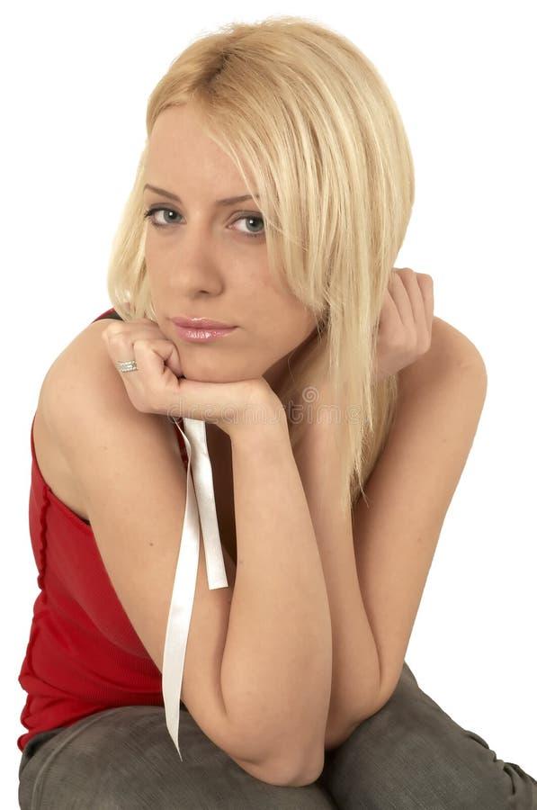 blond dziewczyn young zdjęcia stock
