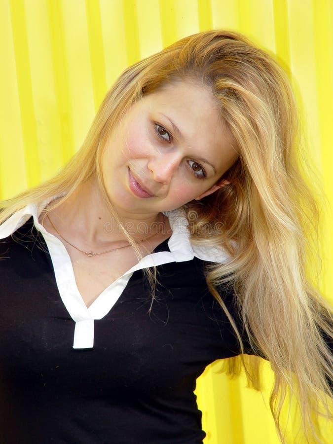 blond dziewczyna zdjęcie stock
