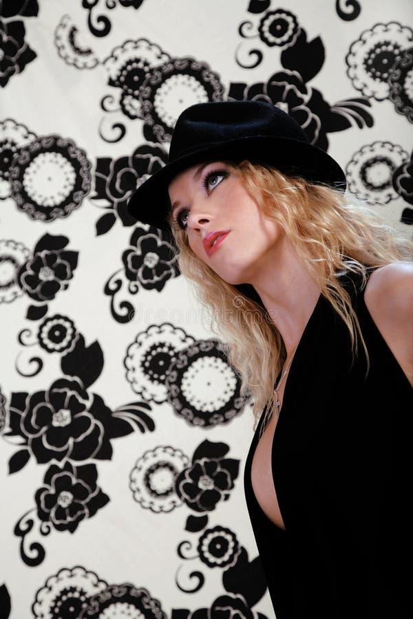 Blond Fashion royalty free stock photos