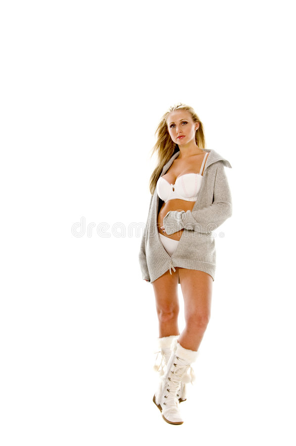 Download Blond Fashion Model stock image. Image of busted, pretty - 6097999