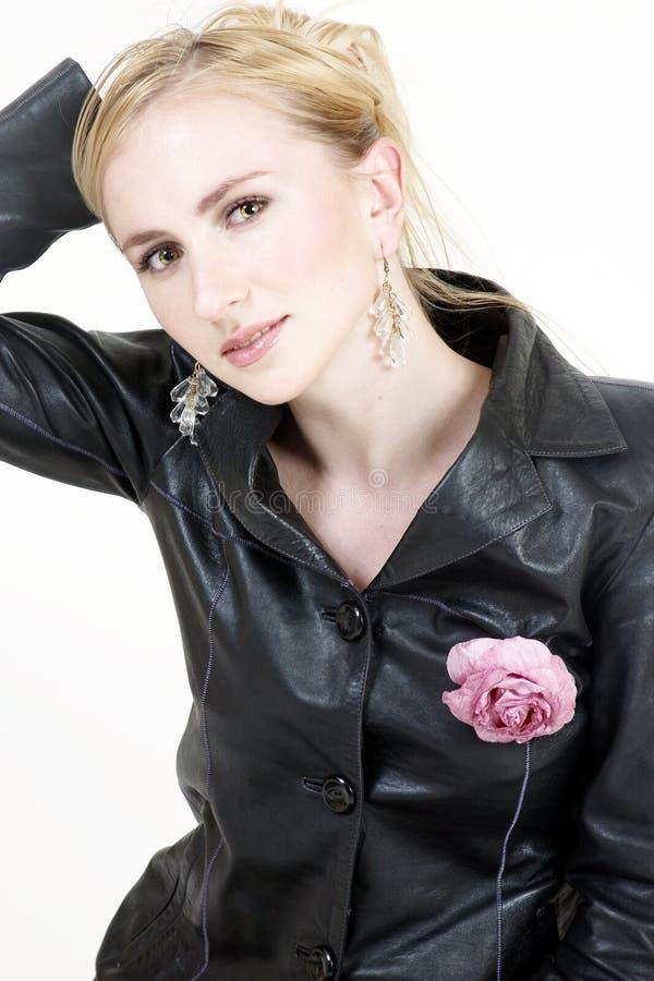 blond flicka 10 arkivfoton