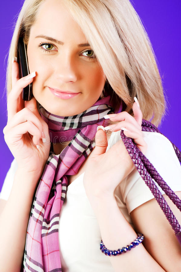 Download Blond girl stock photo. Image of modern, cool, adult - 14855972