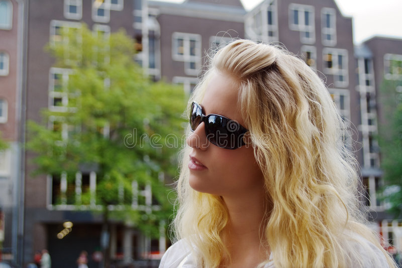 Download Blond girl stock image. Image of attractive, nice, serious - 6184387