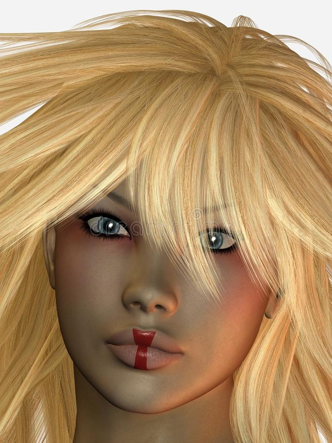 Download Blond Haired Woman Royalty Free Stock Photography - Image: 13085517