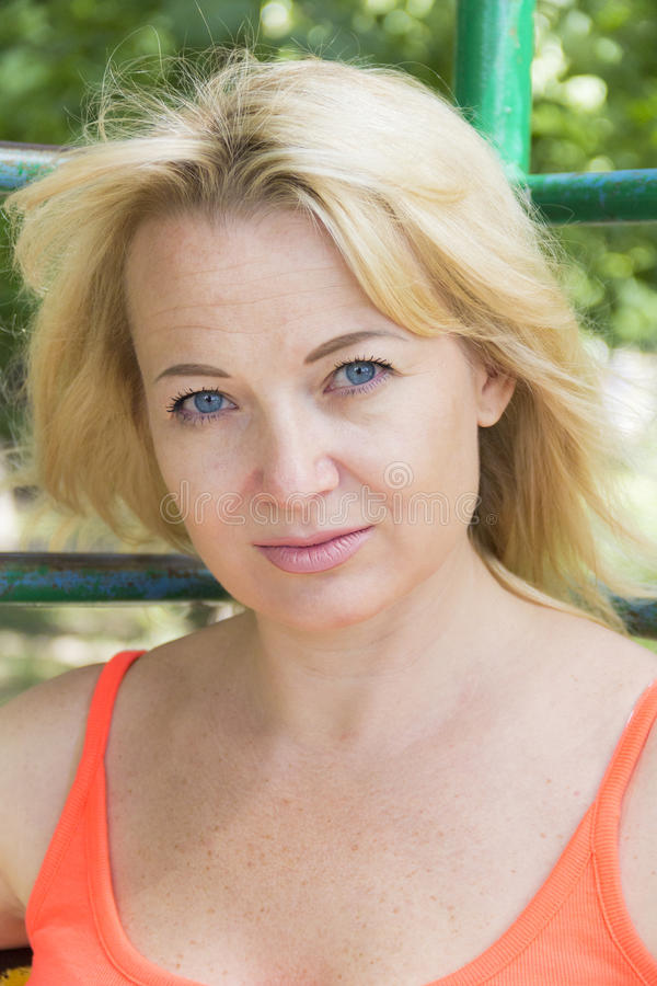blond kobieta zdjęcie royalty free