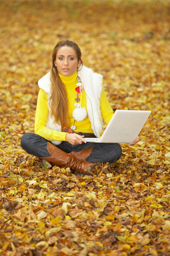 Download Blond Outdoors stock image. Image of lifestyle, model - 4344551